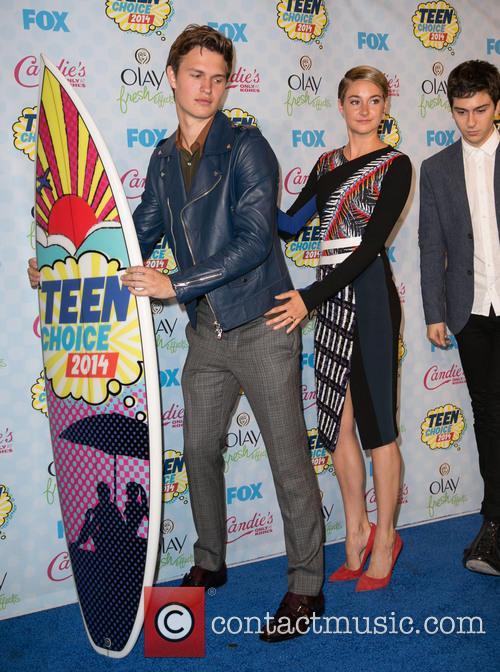 Ansel Elgort, Shailene Woodley and Nat Wolff 7