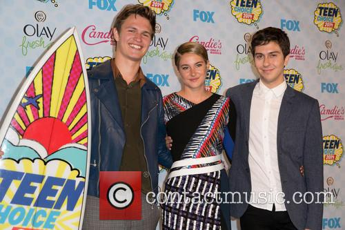 Ansel Elgort, Shailene Woodley and Nat Wolff 8