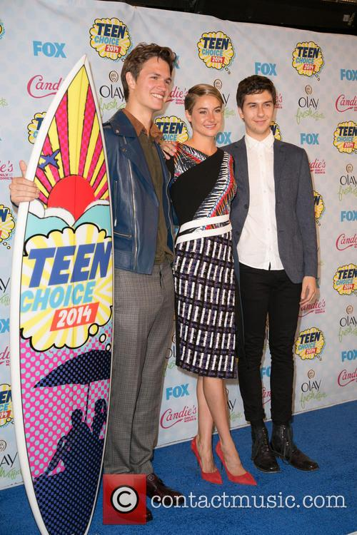 Ansel Elgort, Shailene Woodley and Nat Wolff 10
