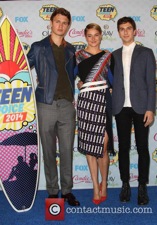 Ansel Elgort, Shailene Woodley, Nat Wolff, Shrine Auditorium & Expo Hall
