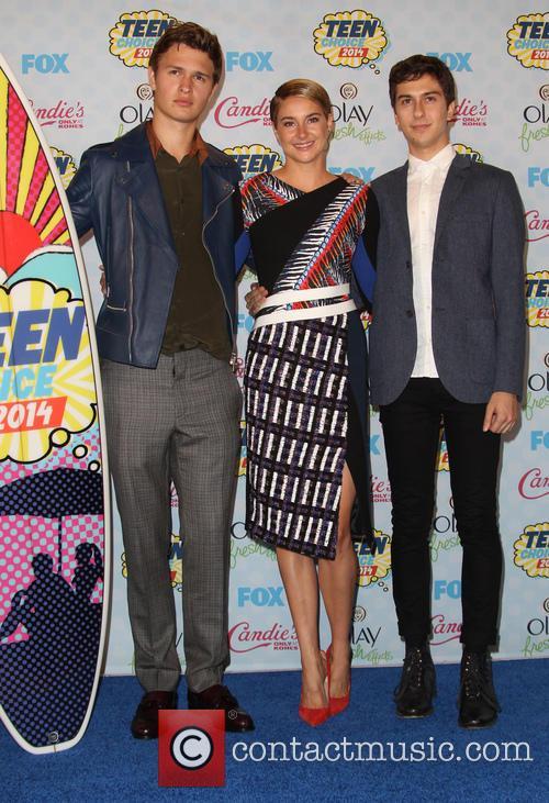 Ansel Elgort, Shailene Woodley and Nat Wolff 15
