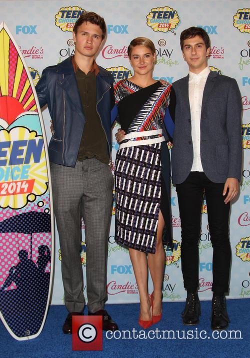 Ansel Elgort, Shailene Woodley and Nat Wolff 16