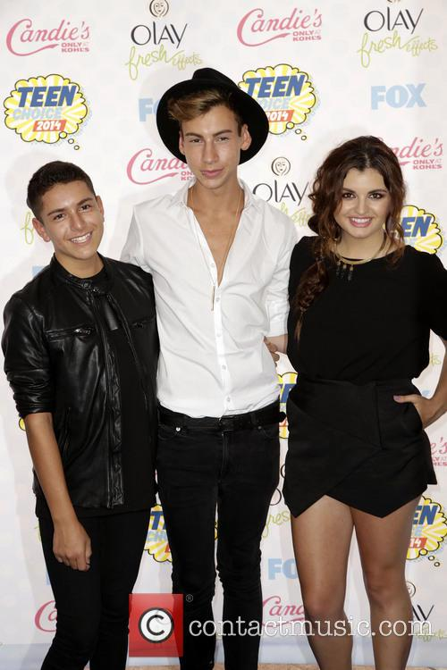 Anthony Quintal, Andrew Lowe and Rebecca Black 1