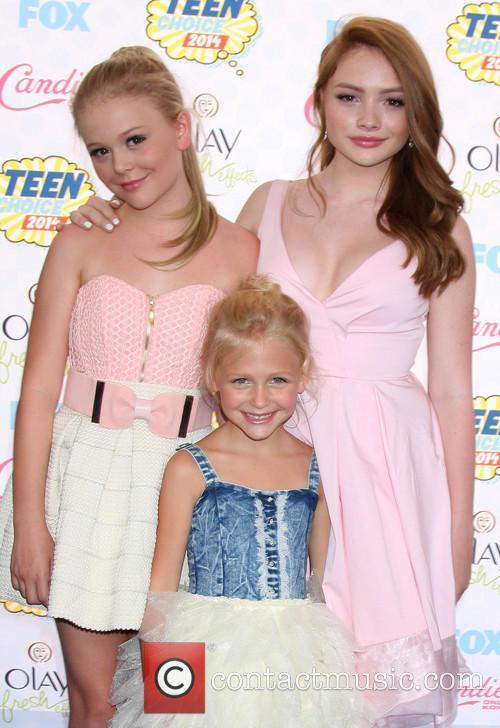 Teen Choice Awards, Alyvia Alyn Lind Emily Alyn Lind and Natalie Alyn Lind 9