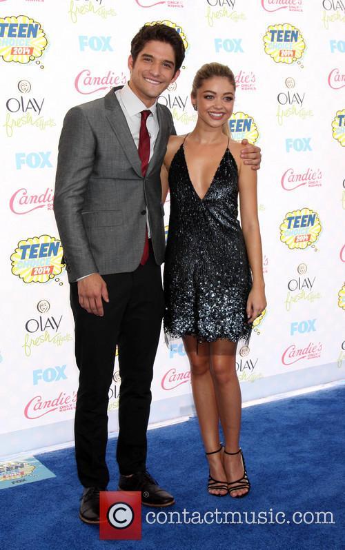 Tyler Poser and Sarah Hyland 4