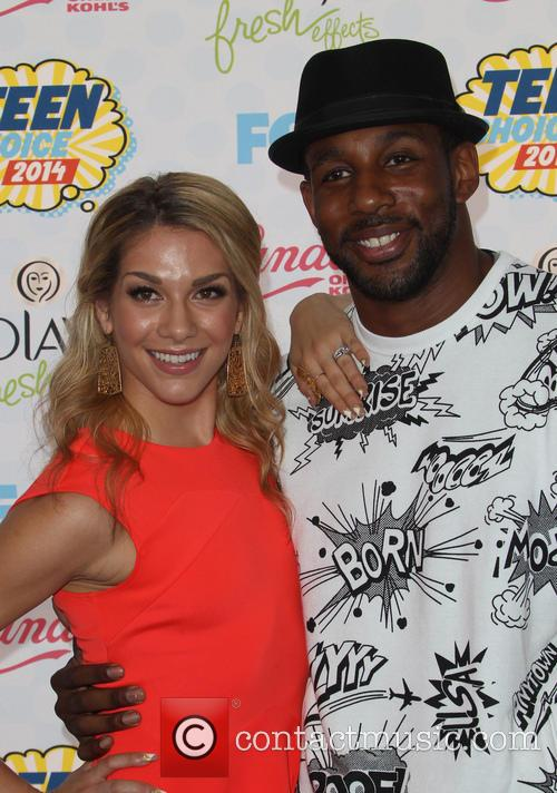 Allison Holker, Stephen Boss and Twitch 6