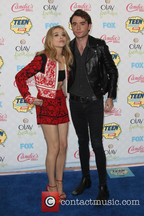 Chloe Moretz and Jamie Blackley 4