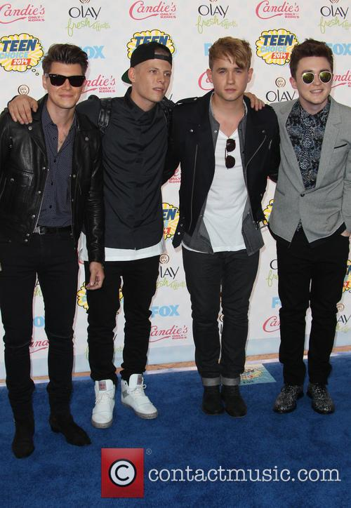 Rixton, Teen Choice Awards, Shrine Auditorium & Expo Hall