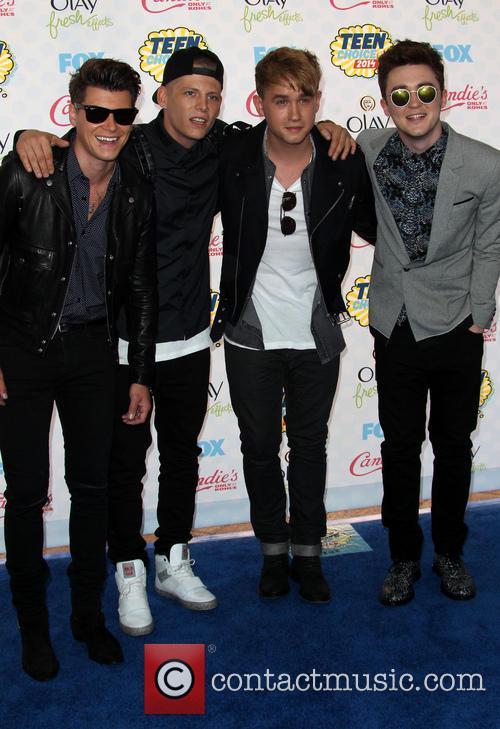 Rixton and Teen Choice Awards 3