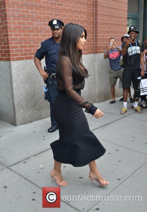 Kim Kardashian and Kim Kardasian 5