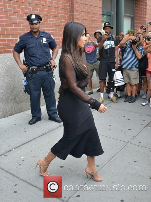 kim kardasian kim kardashian on her way 4321593