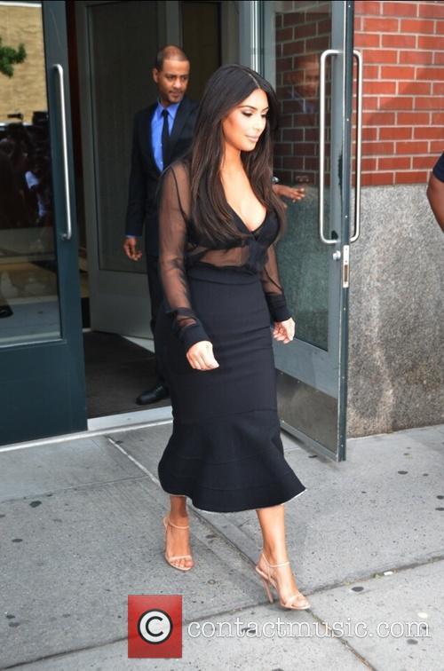 Kim Kardashian and Kim Kardasian 7