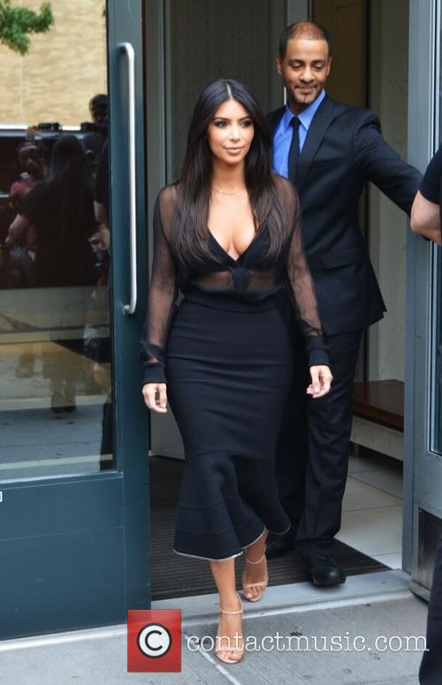 Kim Kardashian and Kim Kardasian 8