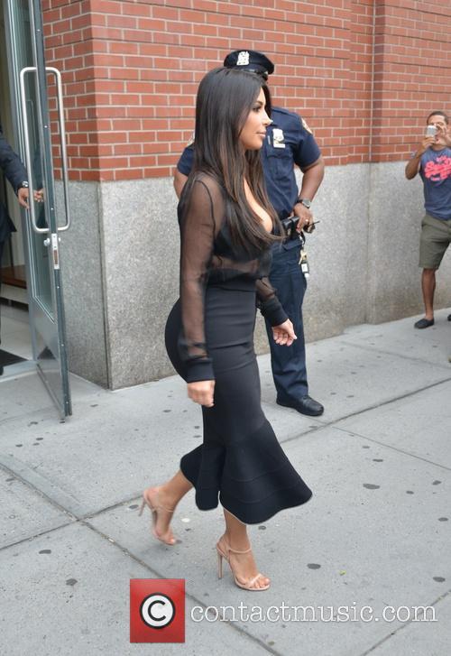 Kim Kardashian and Kim Kardasian 9