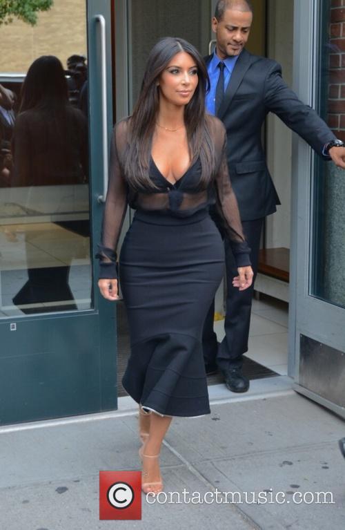 Kim Kardashian and Kim Kardasian 10
