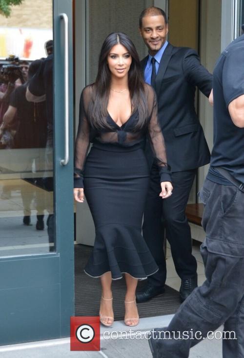 Kim Kardashian and Kim Kardasian 12