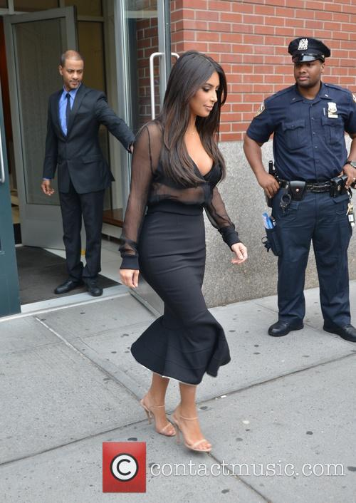 kim kardasian kim kardashian on her way 4321602