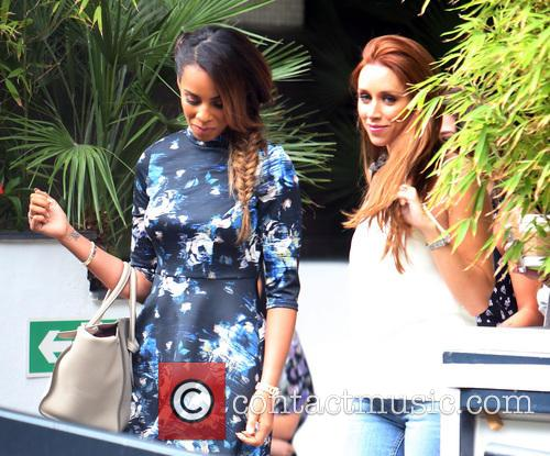 rochelle humes una healy una foden celebrities at the 4321160