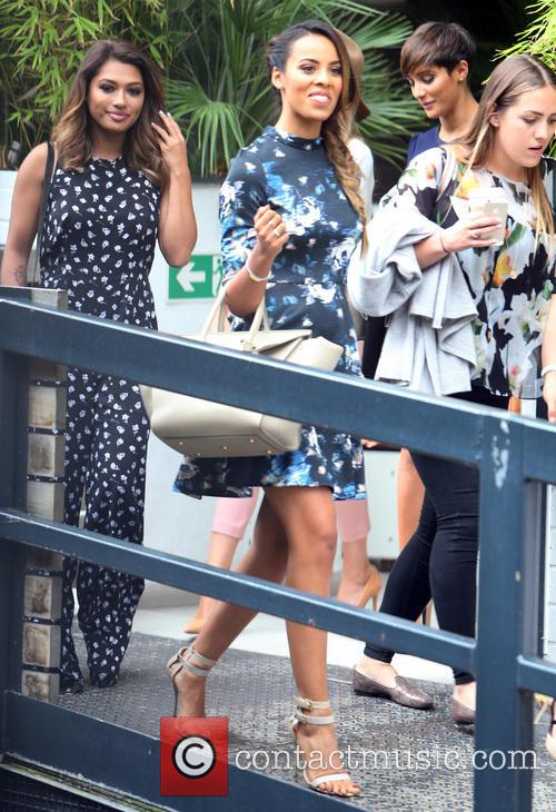Rochelle Humes and Vanessa White 5