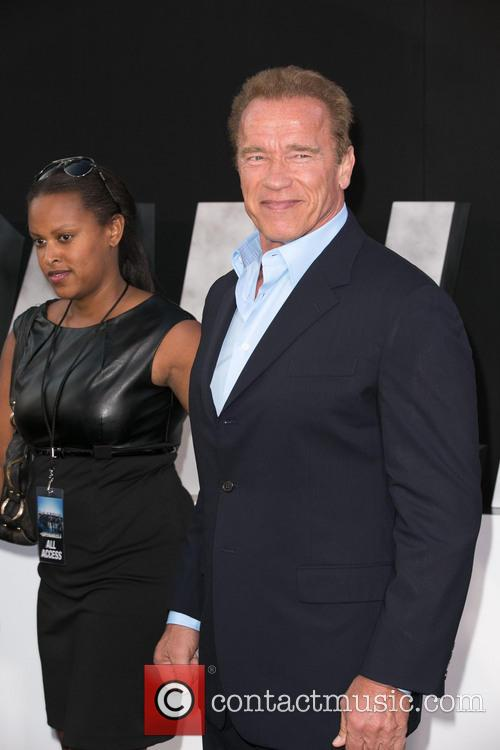 Arnold Schwarzenegger, TCL Chinese Theatre