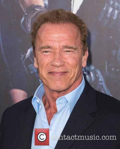 arnold schwarzenegger the expendables 3 premiere held 4322326