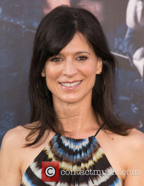 perrey reeves the expendables 3 premiere held 4322309