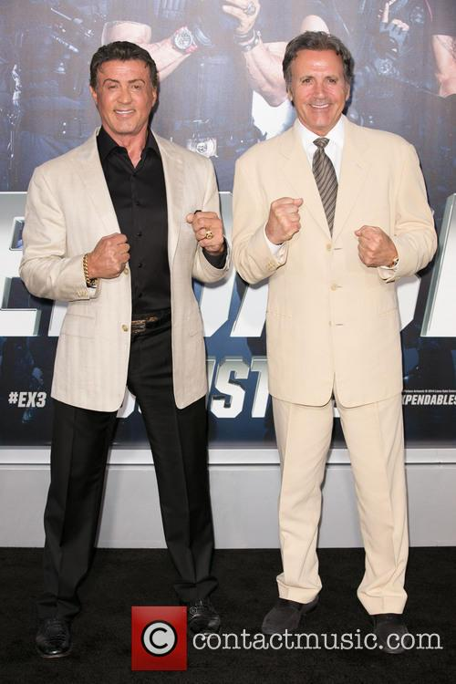 Sylvester Stallone and Frank Stallone 3