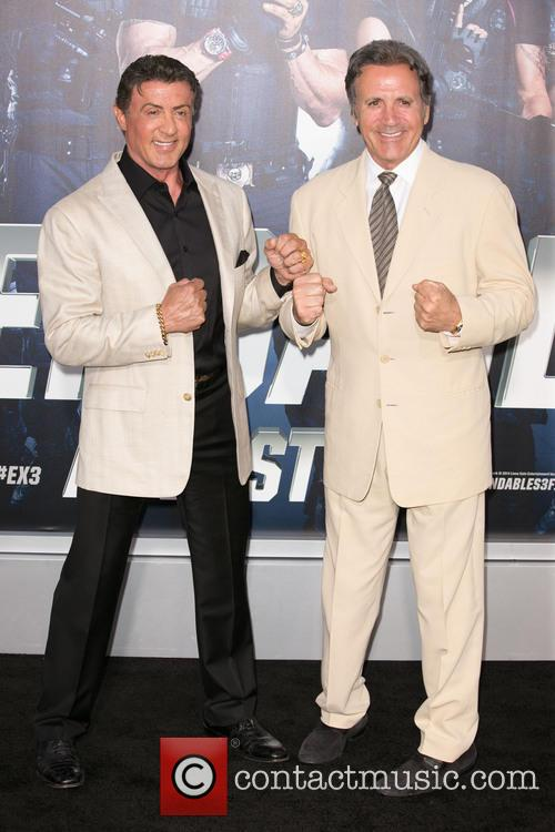 Sylvester Stallone and Frank Stallone 1