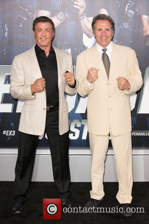 Sylvester Stallone and Frank Stallone 4
