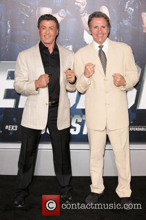 Sylvester Stallone and Frank Stallone 10