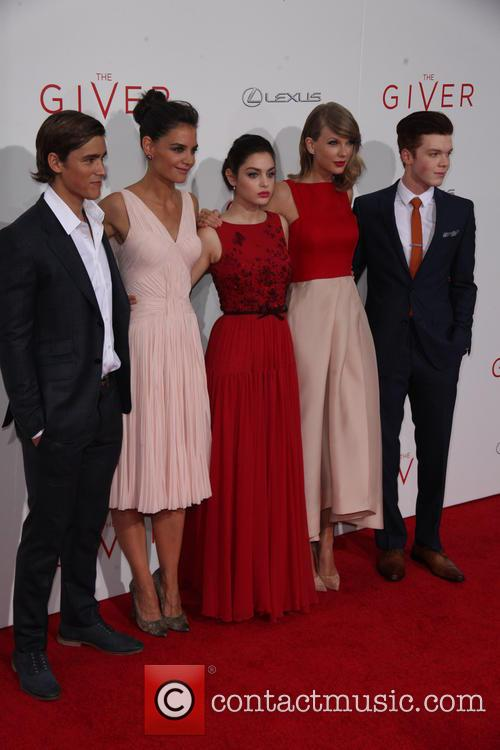 Brenton Thwaites, Katie Holmes, Odeya Rush, Taylor Swift and Cameron Monaghan
