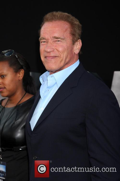 arnold schwarzenegger the expendables 3 premiere held 4322667