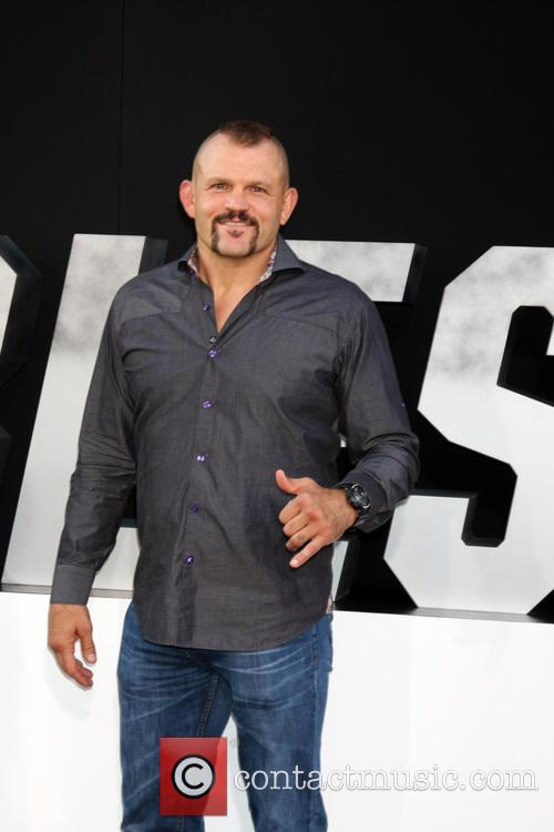 chuck liddell the expendables 3 premiere held 4322693