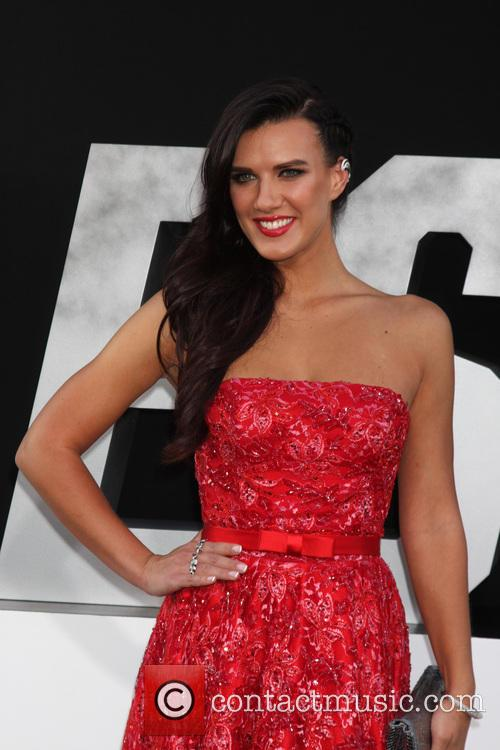 natalie burn the expendables 3 premiere held 4322717