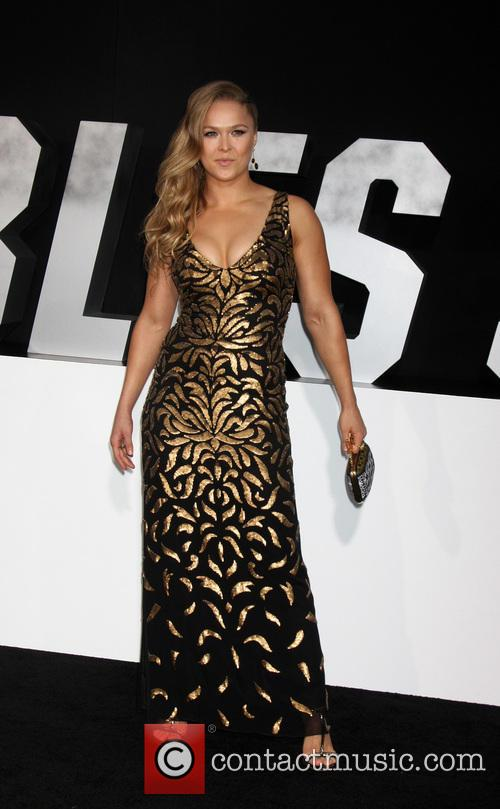 ronda rousey the expendables 3 premiere held 4322674