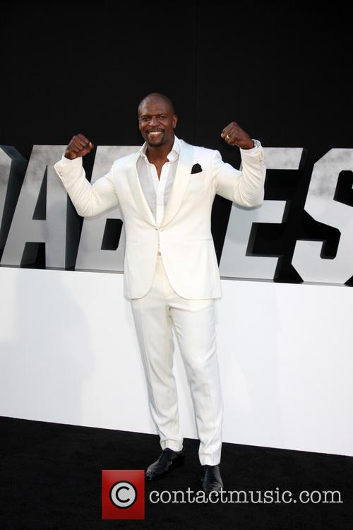 terry crews the expendables 3 premiere held 4322730