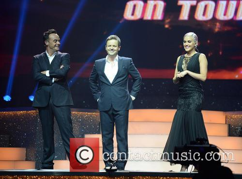Ant McPartlin, Declan Donnelly and Ashley Roberts 3