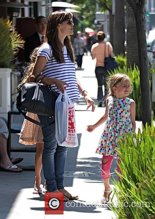 Jennifer Garner and Seraphina Affleck 4