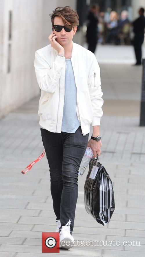 Nick Grimshaw out in London