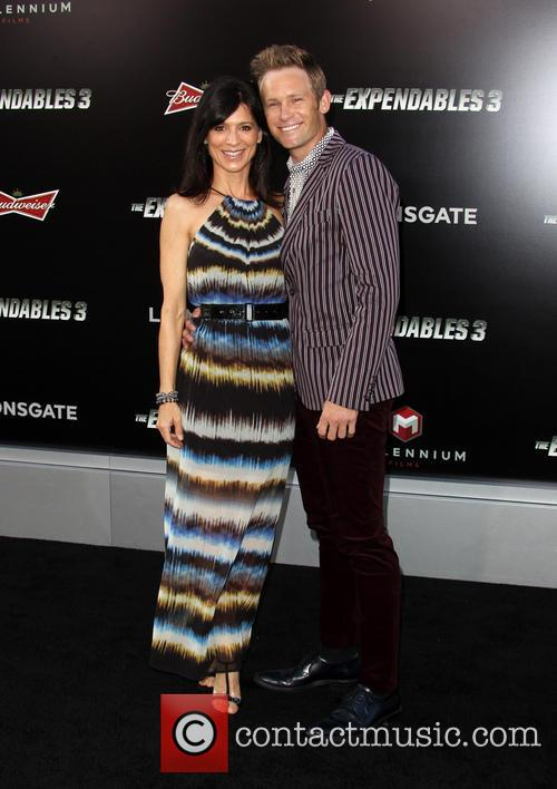 Perrey Reeves and Johann Urb