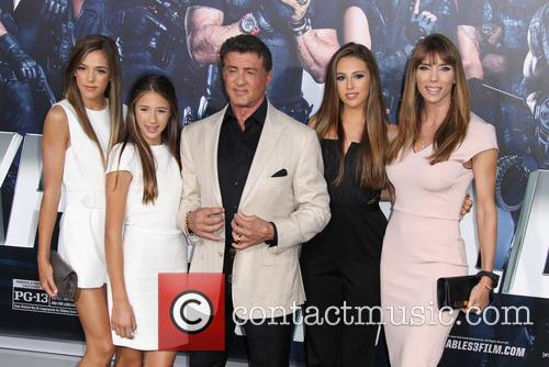 Sylvester Stallone and Jennifer Flavin Stallone 6