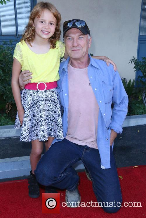 Maggie Elizabeth Jones and Ted Levine