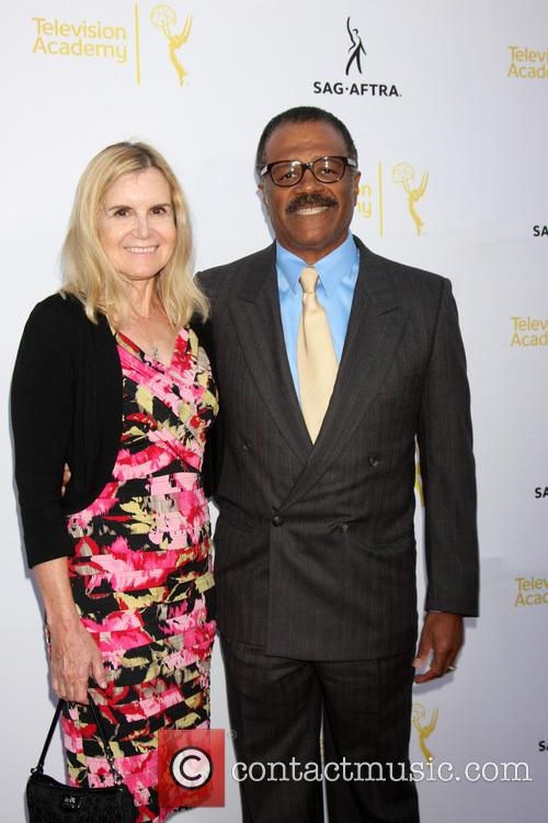 Mary Ley and Ted Lange