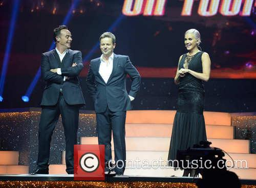 Ant McPartlin, Declan Donnelly and Ashley Roberts 4