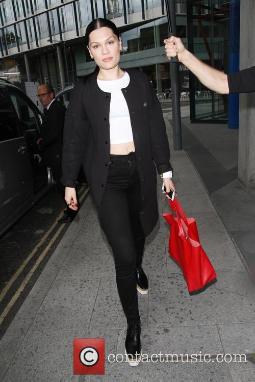 Jessie J heads for a business meeting