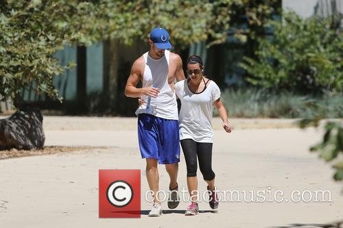Lea Michele and Matthew Paetz 3