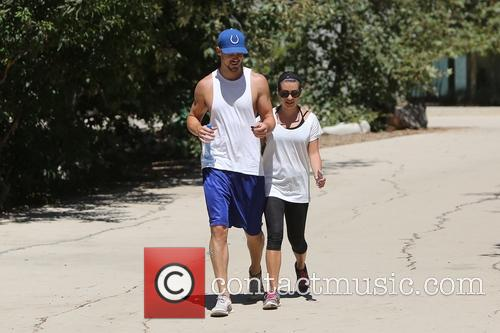 Lea Michele and Matthew Paetz 4