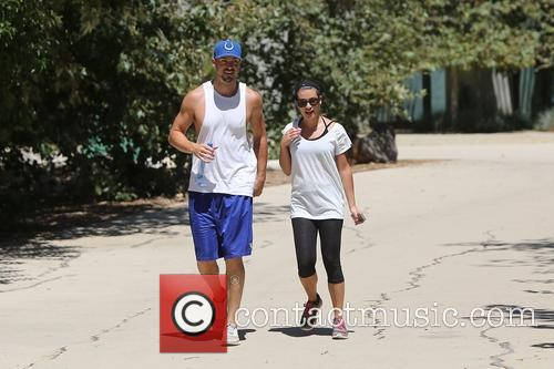 Lea Michele and Matthew Paetz 8