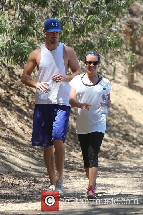 Lea Michele and Matthew Paetz 13