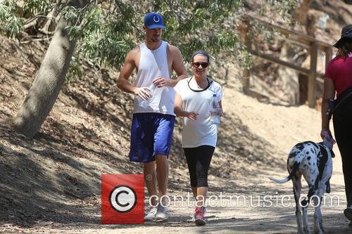 Lea Michele and Matthew Paetz 14